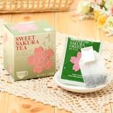 【季節商材特価】【Tea Boutique】スイートサクラティー 緑茶(2g/tea bag10袋入り)★原産国:日本★