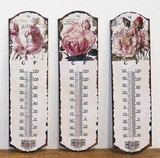 【6月21日から30日まで10%分引きセール!】【温度計 ローズ】