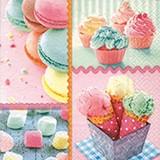 Paper+Design ペーパーナプキン マカロン・アイス・ケーキ
