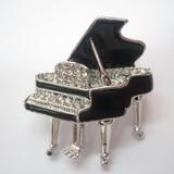 【普段や、お出かけのときにも】ピアノブローチ