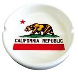 CALIFORNIA REPUBLIC/ラウンド灰皿
