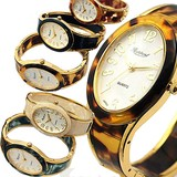 Design Oval Bangle Watch Dial Gold Type 6 Colors