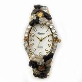 【人気の定番腕時計を】デコレーションファッションウォッチ【デコってみた】
