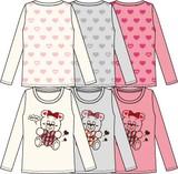 長袖Tシャツ/特価商材(100cm〜130cm)