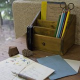 【木製品】色鉛筆スタンド