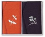 かのこ織刺繍入金封ふくさセット