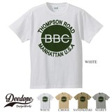 "【DEEDOPE】  ""THOMPSON ROAD "" 半袖 プリント Tシャツ 綿100% カットソー"