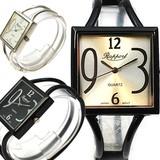 クールなメタルバングルウォッチ 4カラー レディース腕時計