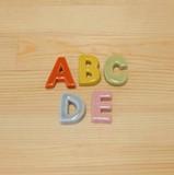 【有田焼】 アルファベット 箸置 (A/B/C/D/E)
