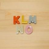 【有田焼】 アルファベット 箸置 (K/L/M/N/O)