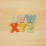 【有田焼】 アルファベット 箸置 (U/V/W/X/Y/Z)