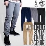 JOEY FACTORY Antique Slim Pants