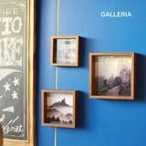 フォトフレーム 3つセット【GALLERIA】ガレリア 正方形 フォトフレーム こだわりフォトフレーム