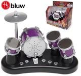 『フィンガードラム』指で遊べるミニチュア ドラムセット♪