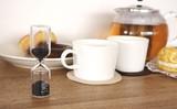 サンドグラス 砂時計【FLOWS】フロウズ キッチン ティータイム 紅茶 個性派インテリアアイテム