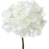 Object and Ornament Hydrangea Pick White