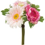 Object and Ornament Rose Gerbera Bouquet Pink Beauty
