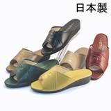 【待望の再出展】天然皮革裏地のコンフォートサンダル<日本製>