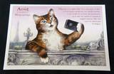 フランス製☆キャット☆ポストカード