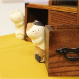 Chigiri Japanese Paper Peeping Cat