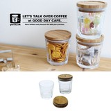 【即納可能】good day cafe ガラスキャニスター【定番】【カジュアル】【行楽】【ガラス】