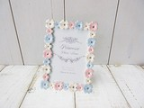 Plan Photo Frame Flower Colorful Romantic Photography Stand Up