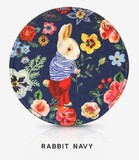 【ナタリーレテ】 ハンドミラー RABBIT NAVY