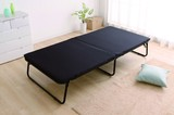 【新生活オススメ】【寝具 おりたたみベッド】ベースマット付きシンプルベッド