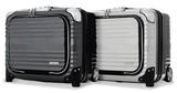 【直送可】フロントポケット付きビジネス横型ファスナータイプ2輪ハードキャリー BLADE