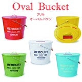 Tinplate Bucket Oval With Lid