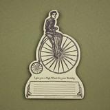 oblation papers&press 活版印刷ダイカットカード tokens 自転車 バースデー