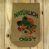 予約販売 [ドイツ]  <果物やさんの袋 台形>