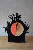 RE_VINYL Table Clock Horror