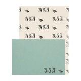 中島良二のアニマルパレードレターセット:便箋8枚+封筒4枚セット:ペンギン