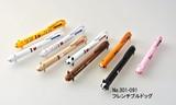 アニマル3色ボールペン フレンチブルドック (商品コード:301-091)