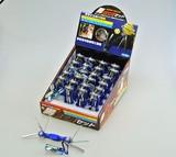 男前工具セット 6pcs ブルー六角棒 (商品コード:603-234)