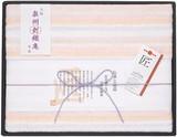 【日本製】綿重ね織りガーゼケット ピンク
