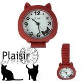 Plaisir(プレジール)猫のジャバラウォッチ♪