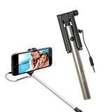 【POCKET Selfie】超コンパクトサイズ♪ジャック差し込みタイプの簡単操作♪