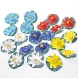 20 Pcs Lotus Sponge Artificial Flower Fun Flow Flower