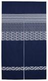 【直送OK】【日本製】刺子小紋3802 のれん 和風 オールシーズン使用可能 刺子柄