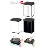 【直送可】Hailo(ハイロ) ニュービッグボックス40L/ブラック/ホワイト/ステンレス/(ごみ箱)