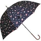 【moomin】【雨傘】長傘 リトルミイ総柄スリム