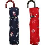 【moomin】【雨傘】折傘 リトルミイ総柄ミニ