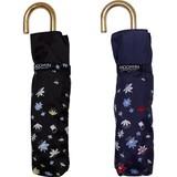 【moomin】【雨傘】折傘 ムーミンフラワーシルエットミニ