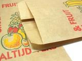 即納可能 [オランダ] <果用紙袋(茶筋)fruitzakken bruin>