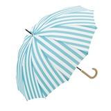 【★処分特価★】50%OFF【雨傘】長傘  ユースフル ストライプ