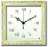 スワロフスキーのラインストーンが輝く大人の掛け時計 Decorative Clock