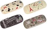 【フレンチテイスト】メガネケース 4柄<メガネケース 刺繍・ラインストーン付き>