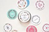 【売り尽くしセール】Circle Sticker 缶 02-Thanks 【シール】【ラベル】